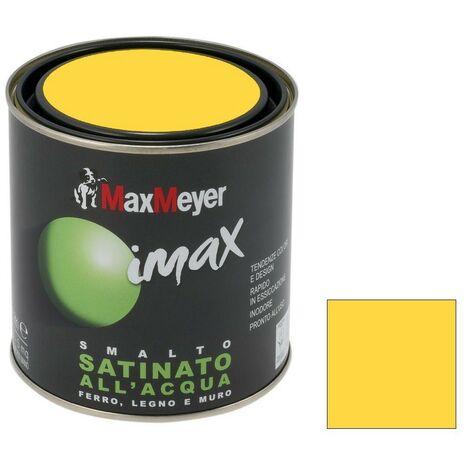 """main image of """"MAX MEYER - IMAX SMALTO ACQUA SATINATO 500ML GIALLO GIRASOLE"""""""