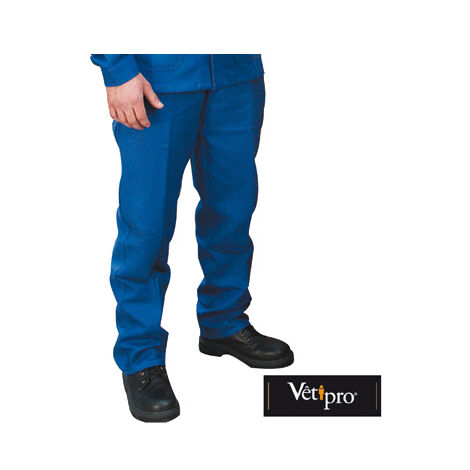 MAX Pantalon de travail homme POCHE METRE 100% coton Vpb