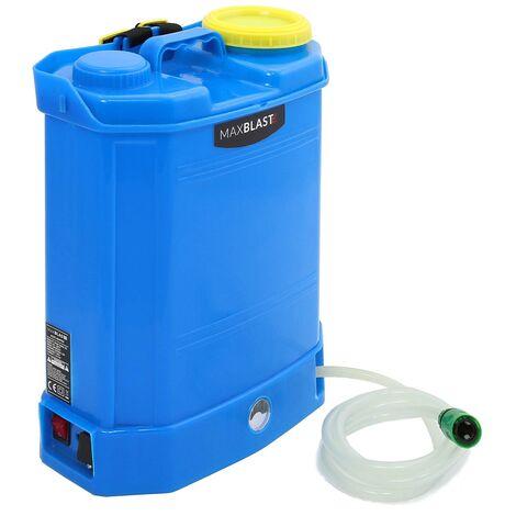 MAXBLAST - Mochila de Plástico para Transporte de Agua 16 Litros con Batería