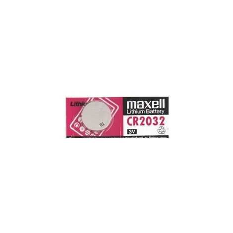 Maxell Pile Bouton CR2032, 10 pièces