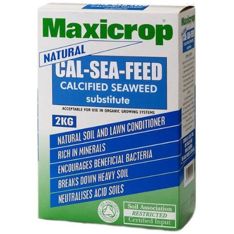 Maxicrop Cal-sea-feed 2 Kilo A Sustainable Alternative To Calcified Seaweed