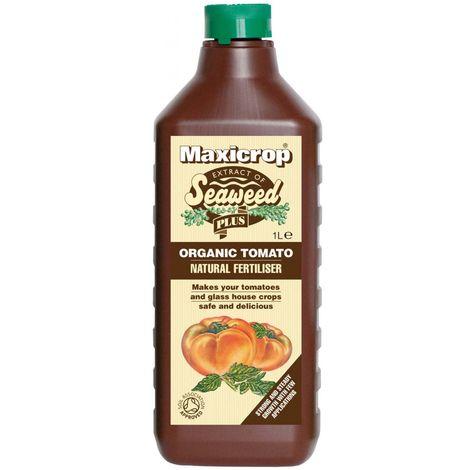 Maxicrop Organic Tomato Feed - Natural Fertiliser / Food - 1L