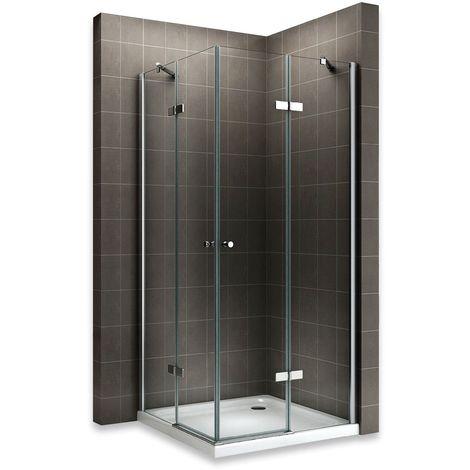 MAYA Cabine de douche H 180 cm en verre