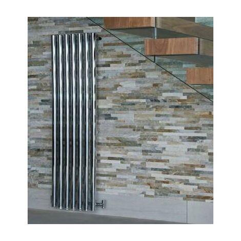 Mayfair Vertical Radiator 1800x305 3026 BTUs Chrome