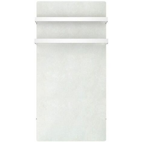 MAZDA Seche-serviettes Dual Kherr 1000W - Sable blanc