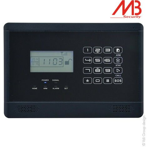 MB Security - Centrale d'alarme MB Security Alarm@home GSM