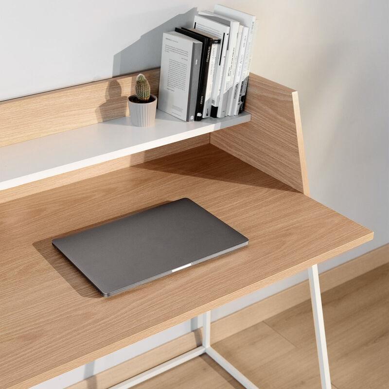 Mc Haus - Scrivania Ufficio Scrittoio Kala legno 120x62x89cm
