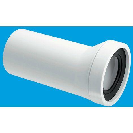McAlpine 10mm Offset Adjustable Length Rigid WC Connector - 110mm Outlet