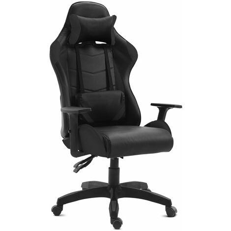 "main image of ""Chaise de bureau gaming fauteuil bureau inclinable et giratoire"""