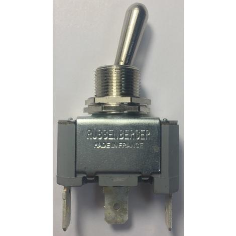 """main image of """"Mci 092670 Interrupteur unipolaire à levier - pouvoir de coupure 15A 250V - Laiton"""""""