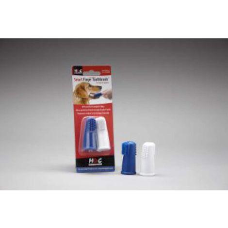 MDC Smart Finger Dog Toothbrushes (Pack Of 2)