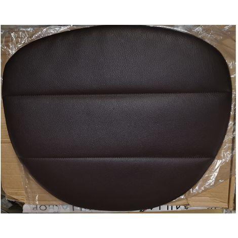 MDF italia F052190 Chair Pad - Genuine leather - testa di muro