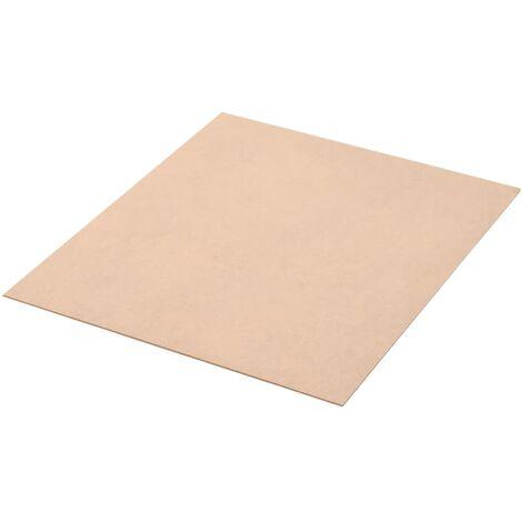 MDF-Platten 10 Stück Quadratisch 60x60 cm 2,5 mm