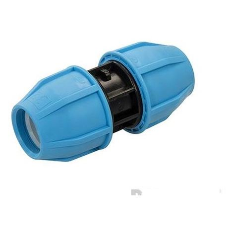 MDPE Straight Pipe Coupling - 32 x 32mm