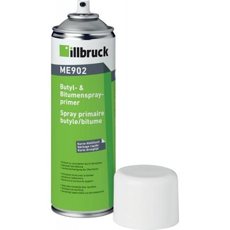 ME902 Primaire Butyle & Bitume en spray 500ML Illbruck (Par 12)