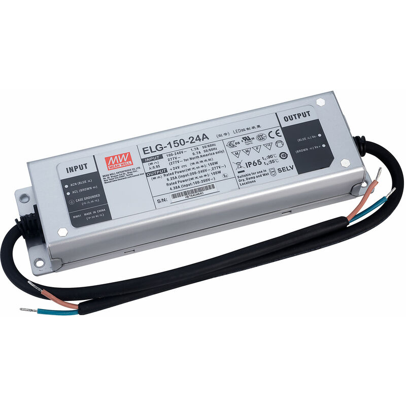 Image of Mean Well ELG-150-24A Constant Voltage & Constant Current LED PSU 24V 6.25A 150W