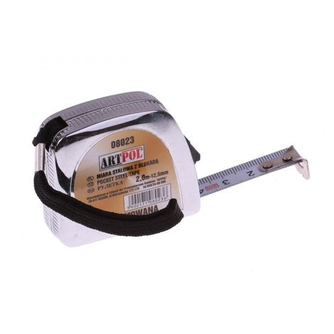 Measure tape measuring tape roll 2m x 12.5mm