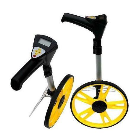 Measuring Wheel, Digital Read, Metres & Feet, Telescopic Handle