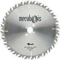 Mecabois - Lame de scie circulaire au carbure anti-recul pour bois de chauffage et de construction - 600 x 30