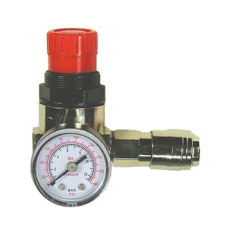"""main image of """"Mecafer 152166 - Riduttore di pressione, manometro, rubinetto, 1/4 m"""""""