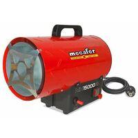 MECAFER Chauffage a gaz avec turbine incorporee 15000 W MH15000G