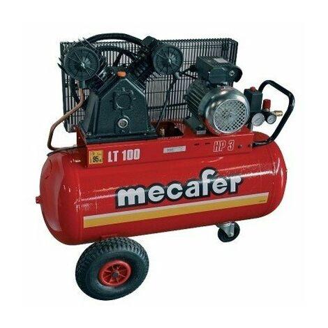 Mecafer – Compresseur 3cv 100 Litres Bicylindre - Twenty
