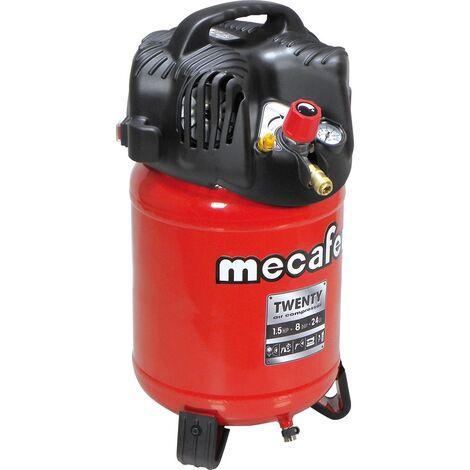 MECAFER COMPRESSEUR D'AIR VERTICAL 24L 1,5HP TWENTY 21188
