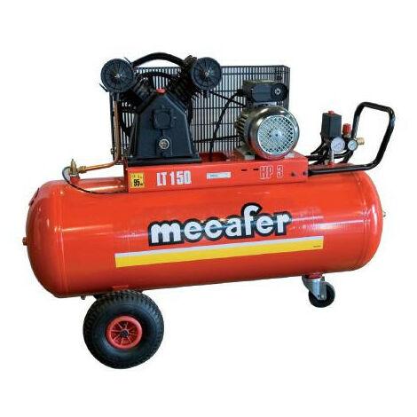 Mécafer - Compresseur fonte avec courroie 3CV 150 litres - TWENTY