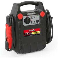 Mecafer - Démarreur batterie booster 230V/12V DC 500mA 900A - MB901