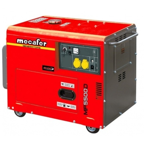 Mecafer - Groupe électrogène diesel 5000W (Mono) - MF 5500D