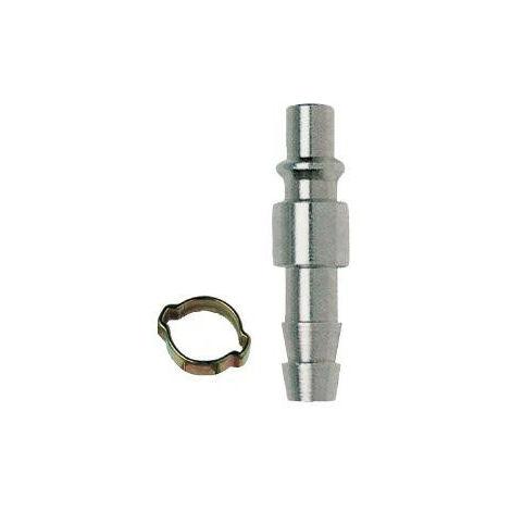 Mecafer - Insert rapide cannelé tuyau 10x17 + collier