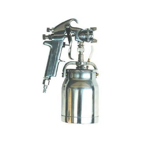 Mecafer Pistolet De Peinture Professionnel 1litre Buse 1 8mm