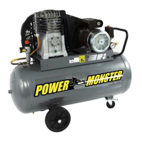 Mecafer Power Monster - Compresseur professionnel 3CV 100 litres