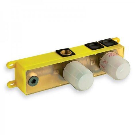 Mécanisme box encastré pour bain douche 2 sorties - CRISTINA ONDYNA PD13751