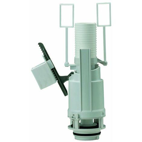 Mécanisme de chasse d'eau suspendu double volume pour réservoir de bati support SIAMP Verso 350