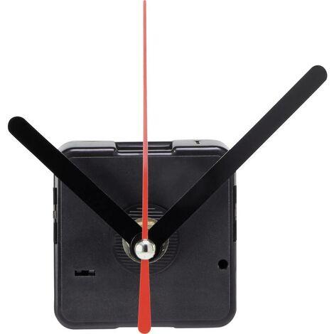 Mécanisme dhorloge lent Basetech BTQU-2S BT-1680333 à quartz Sens de rotation: à droite Longueur daxe pour les aiguilles: 6 mm 1 pc(s)
