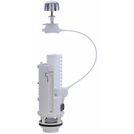 Mécanisme double volume à câble spécial rénovation - OPTIMA 50 BT D6 - compatible Ø 6 à 50 mm
