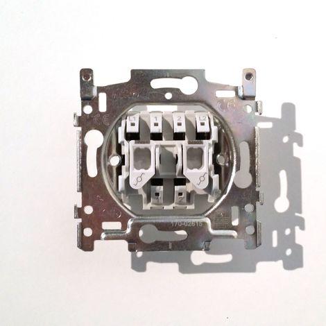Mécanisme Interrupteur Double Va-et-Vient NIKO 170-02615