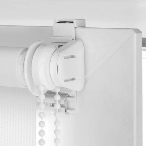 Mécanisme pour Store Enrouleur Jour / Nuit sans perçer - Blanc - Blanc