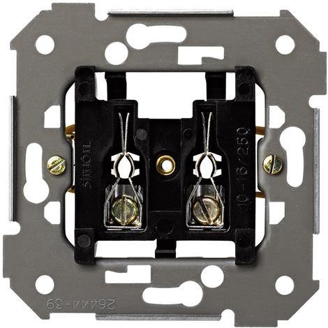 Mecanismo base enchufe 2 polos + Seguridad Serie 26