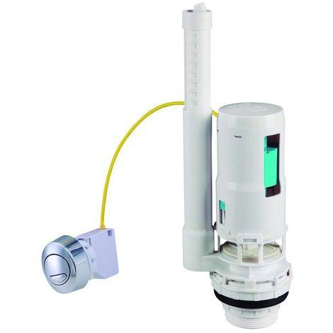 Mecanismo descarga WC D-220 Doble pulsador