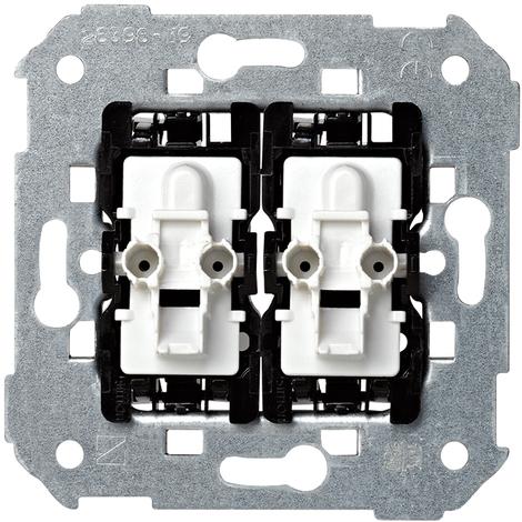 Mecanismo grupo 2 interruptores Serie 26