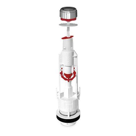 Mecanismo inodoro con pulsador interrumpible GSC 003703179