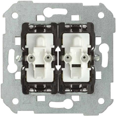 Mecanismo Interruptor Doble Conmutado Cruzamiento Simon 82 7502251 10 A