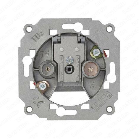 Mecanismo Toma Intermedia TV Simon 75487 AluminioAluminio