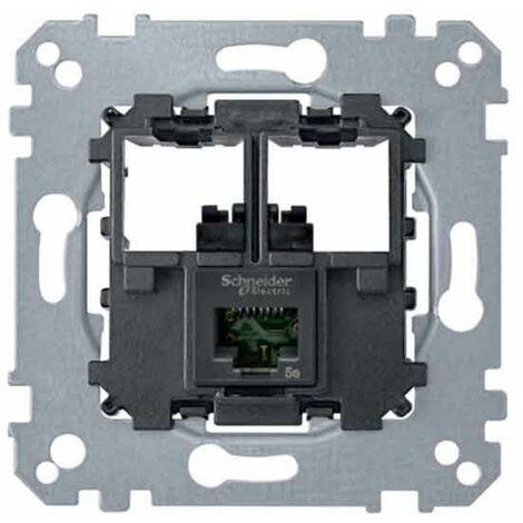 Mecanismo toma RJ45 SIMPLE CAT6 UTP MTN4576-0001 de Schneider