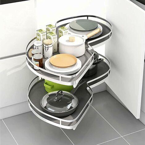 Meccanismo Cestello Base Angolo Cucina Estraibile - Ammortizzato