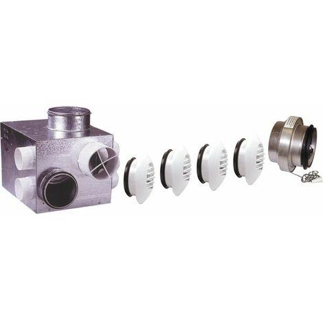 Mechanische Belüftung Gas - Luftkasten mechanische Belüftung Gas individuell + Durchlässe