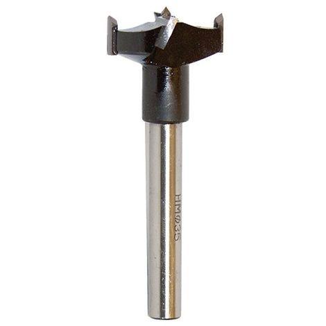 Mèche à façonner au carbure HM à fond plat D. 35 mm L. 90 mm Q. 10 mm - 100.735.00 - Leman