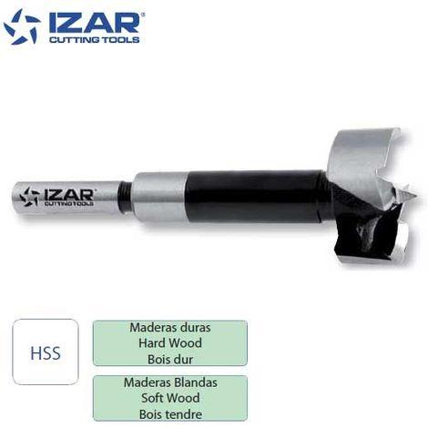 mèche à façonner HSS Forstner bois Izar de 10 à 50 mm